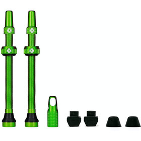 Muc-Off MTB & Road Tubeless Valve Kit 80mm, green